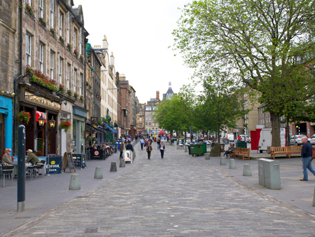 Edinburgh Grassmarket project